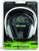 Plantronics GameCom X40 Gaming Headset Xbox 360