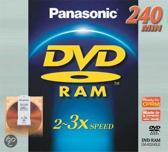 Panasonic DVD-RAM Cartridge 3x - 1 stuk