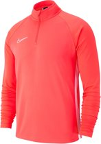 Nike Dry Academy 19 Drill Top Sportshirt - Maat S  - Mannen - rood/wit