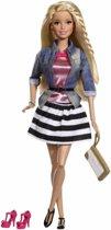 Barbie Fashionista - Gestreept Rokje - Barbiepop