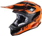 Just1 Crosshelm J32 Pro Kick Orange-L