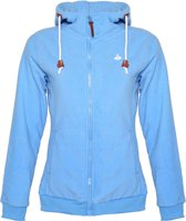 Bjørnson Fleece Vest Capuchon Dames Blauw - Maat 54 (7XL) - Heiga