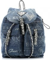 Guess Rugzak -  Marrakech Backpack Blue Denim - HWDI5052300BDM
