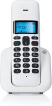 Motorola T301 - Single DECT telefoon - NL - Wit