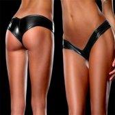 Erotisch Sexy Lingerie Slipje Spandex Zwart
