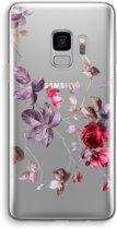 Samsung Galaxy S9 Transparant Hoesje (Soft) - Mooie bloemen