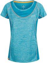 Regatta-Wmns Breakbar IV-Outdoorshirt-Vrouwen-MAAT XS-Blauw