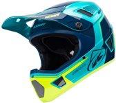 Kenny BMX Helm Scrub Aqua/Yellow-S