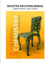 Student Solutions Manual for General Chemistry