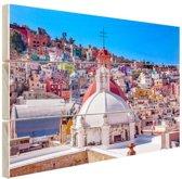 FotoCadeau.nl - Guanajuato Mexico foto Hout 80x60 cm - Foto print op Hout (Wanddecoratie)