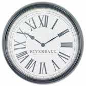 Riverdale Time Wandklok Zwart 38cm
