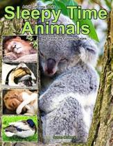 Adult Coloring Books Sleepy Time Animals