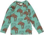 Maxomorra  MIGHTY MOOSE  T-shirt Lange Mouwen V-neck 134/140