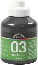 A-color Metallic acrylverf, zwart, 03- metallic, 500 ml