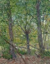 Trees, Vincent Van Gogh. Graph Paper Journal