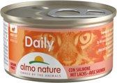 Almo Nature Kattenvoer - Daily Menu Mousse Zalm - 24 x 85g