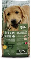Pets Place Naturals Puppy  Small Breed Kip - Hondenvoer - 7 kg