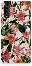 Samsung Galaxy A70 Standcase Hoesje Flowers