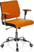 hjh office Avida - Bureaustoel - Oranje