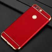 Let op type!! MOFI voor Huawei Honor 8 drie - lid Shield volledige hoes terug beschermkap (rood)