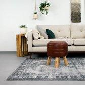 Vintage Vloerkleed - Estate Medaillon Grijs 190x290cm