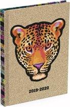Lannoo Graphics schoolagenda Cute But Wild 2019-2020 - Panter