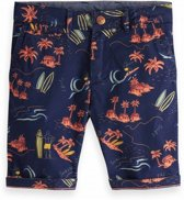 2e36de94f20 Scotch Shrunk Jongens All-over Printed Chino Shorts - Dessin - Maat 176