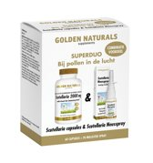 Golden Naturals Scutellaria 2000 mg + Scutellaria neusspray (1 duoset)