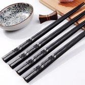 KELERINO. Chopsticks set (2 stokjes) - Eetstokjes Sushi - Bloemen