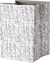 Cosy & Trendy Mand Magic Fabric - 35 cm x 35 cm x 45 cm - Wit-Grijs