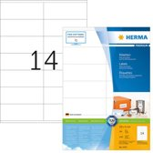 Herma Labels white 105x41 SuperPrint 1400 pcs.