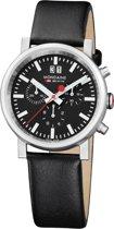 Mondaine A690.30304.14SBB Horloge - Leer - Zwart - 40 mm