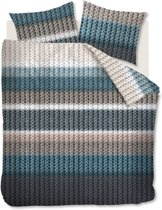 Beddinghouse Nelson - Flanel - Dekbedovertrek - Tweepersoons - 200x200/220 cm + 2 kussenslopen 60x70 cm - Pastel
