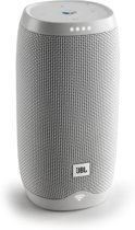 JBL Link 10 - Draadloze Smart Speaker met Google Assistent - Wit