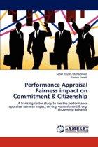 Performance Appraisal Fairness Impact on Commitment & Citizenship
