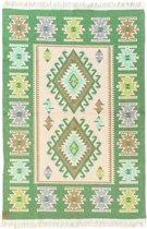 Kaira Vloerkleed - 120x180 - Groen - by Okashi Heritage