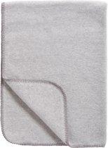 Mecyo Basic Uni - Ledikantdeken 100x150 cm - Grijs/Melange