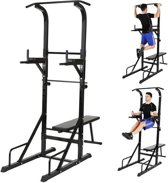 Multi Gym Dip Station - Krachttrainer Rug Armen Beenlift