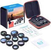 DrPhone APEX Series 10 in 1 HD Telefoon Camera Lens Kit