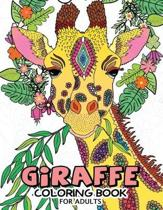 Giraffe Coloring Books for Adults