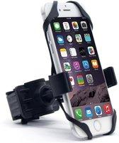 Telefoonhouder voor de fiets en scooter, universele smartphone houder Schokbestendige Siliconevoeringen, geschikt voor alle Smartphones Apple, Samsung, HTC, LG, Huawai, Nexus, Oneplus.