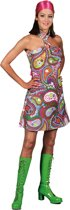 Halter hippie jurk dames 42 (xl)