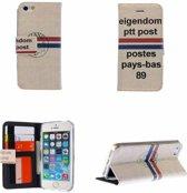 Apple iPhone 6 / 6S Wallet Case Portemonnee Hoesje PostNL