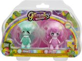 Glimmies Flora / Mousy - Blister 2 Glimmies Rainbow Friends
