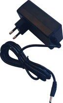 DELTACO DC5V4A, Lichtnet adapter 4A Voedingsadapter, 100 - 240 V AC 50/60 Hz - 5 V DC, 3,5 mm connector, 1,5 m kabel, zwart