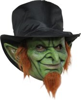 Hoofdmasker (Latex) Mad Goblin