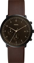 Fossil Chase Timer horloge  - Bruin