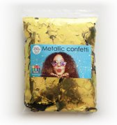 confetti square 10x10mm - gold