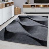 Modern vloerkleed - Jena Zwart 9240 200x290cm