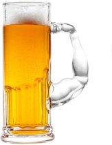 Muscle Beer glass / Bierglas met spierballen